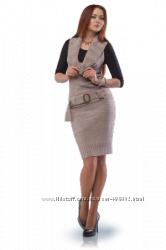 Шикарные трикотажные платья, сарафаны
