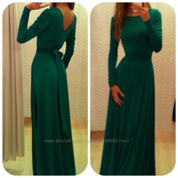 Стильные теплые платья