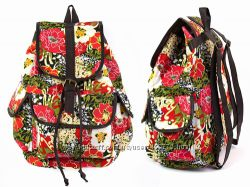 Яркие летние рюкзачки с принтами 30 видов
