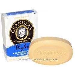 Grandpa&acutes Thylox, мыло с серой для проблемной кожи с Iherb