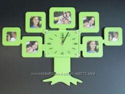 Часы семейное дерево, настенные