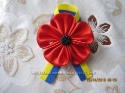 украинские патриотические броши, значки