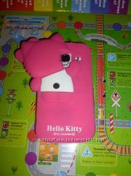 чехол котик в наличие  Samsung Galaxy  S7500