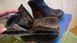 Шикарные зимние сапоги Bebetom 25 размер стелька 16, 5см