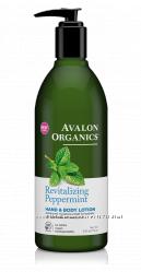 Лосьоны для рук и тела натуральные 4 разновидности Avalon Organics США