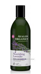 Гели для ванны и душа натуральные 4 аромата Avalon Organics США