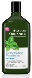 Шампунь и кондиционер укрепляющие Мята Avalon Organics США