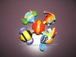 Nuby Прорезыватель - игрушка Бабочки