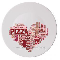 Блюда для пиццы и для десертов bormioli . Бормиолли. Италия.