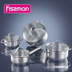 Набор кастрюль с крышками Fissman Gabriela 8 пр. SS-5816. 8