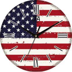 Часовая фабрика ЮТА Коллекция Vintage Флаги