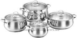 Набор посуды KORKMAZ A1626 Набор посуды 4 кастрюли с крышками Mona