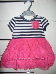 Очень красивое платье CHILDRENS PLACE 9м