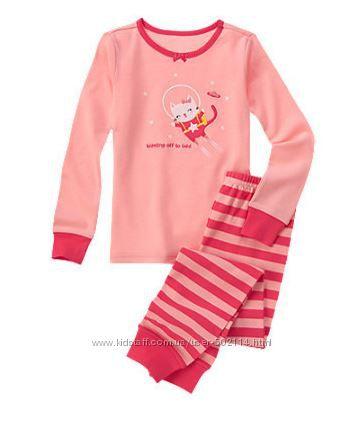 Пижамы для девочек американской фирмы Gymboree
