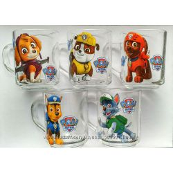 Чашка с мультгероями Щенячий патруль, Тачки, Дисней