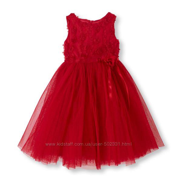 Роскошное нарядное платье для девочки в размерах 4 и 6Х 7
