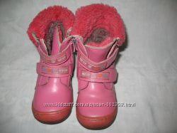 Сапожки для девочки зимние