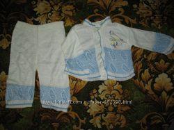 Комплект штанишки и кофточка