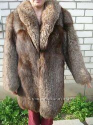Полушубок песец-чернобурка