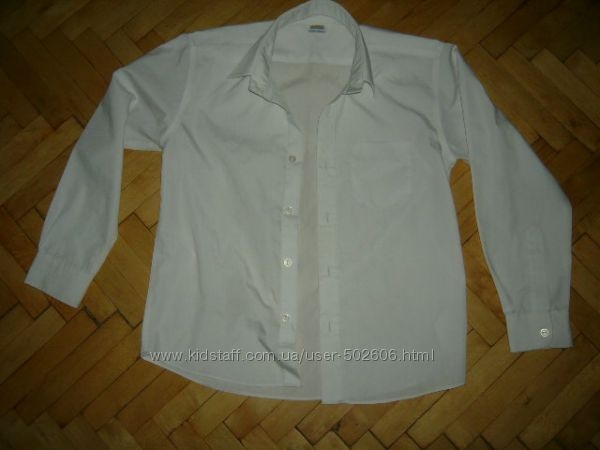 Белые рубашки в школу 9-12 лет.