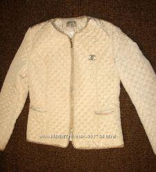 Стеганная куртка Chanel XL
