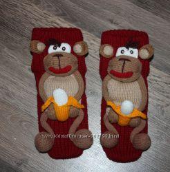 Носочки с обезьянами  38р.