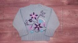 Теплый и красивый свитер ORCHESTRA р. 104