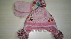 Новый набор Next шапка и варежки
