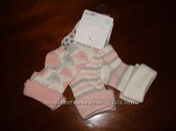 Новые носочки с тормозками Cool clab, 100 хлопок, 3 шт.