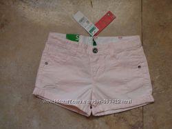 Новые шорты Италия, Benetton, 11-12 лет, 160р