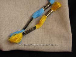 Оксамит, Домоткане полотно, накладна канва, тканина для вишивання та ін.