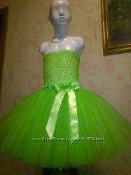 Салатовая юбочка из фатина