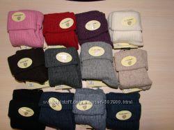 Носки шерстяные женские с отворотом шерсть ламы