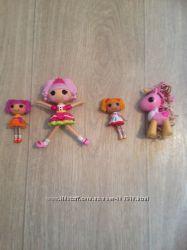 Lalaloopsy куколки и лошадки лалалупси
