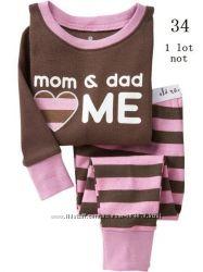 пижамы Gap, GCP BABY, осень для девочек и мальчиков