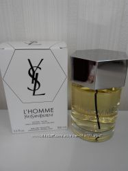 Шикарный мужской аромат со шлейфом от Ives Saint Lauretnt L Homme Оригинал