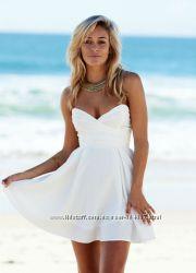 Белоснежное платье Oasis, стиляги