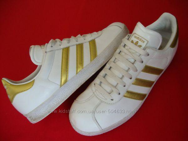 Кроссовки Adidas Gazelle оригинал натур кожа 42 размер