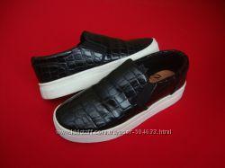 Кеды слипоны H&M Black 36-37 разм