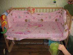 Кроватка детская б&92у. матрац, постель