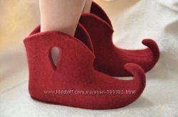 Эльфийские ботинки 37-38 разм
