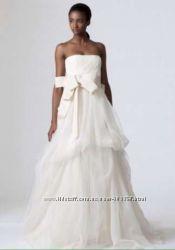 Vera Wang, шикарное свадебное платье