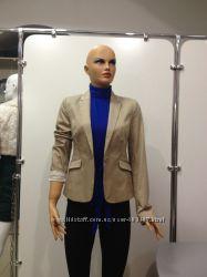 Пиджак бежевый новый размеры  L  Pimkie