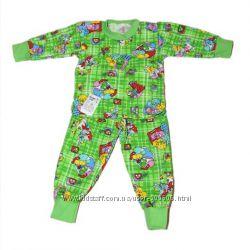 Пижамы начес, для мальчиков и девочек, хлопок, распродажа