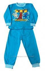 Пижамы новые для деток. Интерлок с начесом. Качественные. Хлопок. В наличии