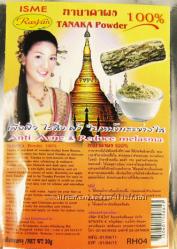 Тайская натуральная пудра Танака для избавления от пигментации и высыпаний