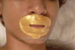 Многоразовая маска с коллагеном и био-золотом от носогубных складок