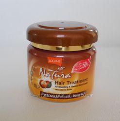 Маска-бальзам для восстановления сухих и ломких волос с маслом макадамии