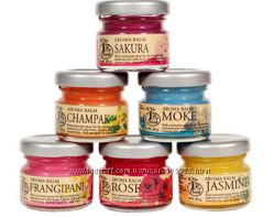 Цветочные аромабальзамы сакура, жасмин