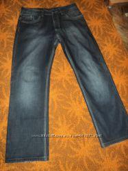 Мужские джинсы на флисе 52 размер W33 L34
